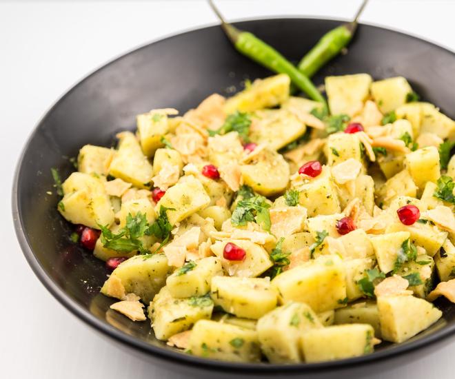 Indian Sweet Potato Chaat