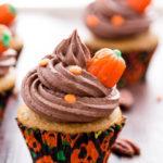Pumpkin Pecan Cupcakes