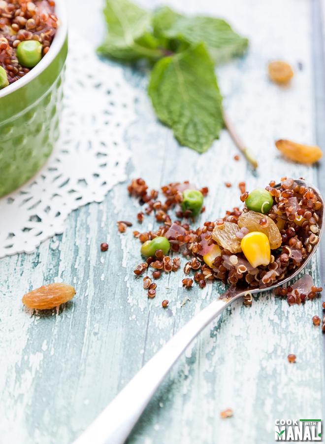 Quinoa Indian Style Recipe