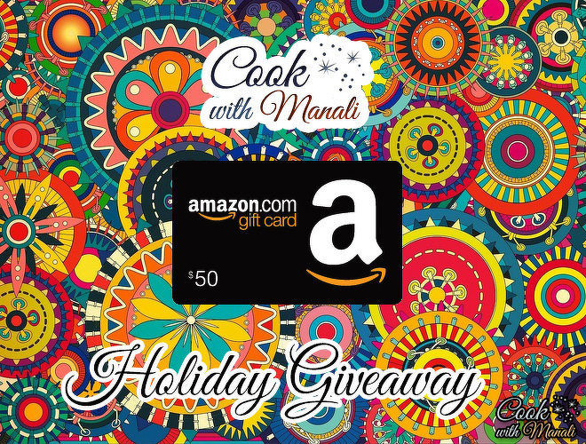 Thanksgiving Giveaway by Cook With Manali
