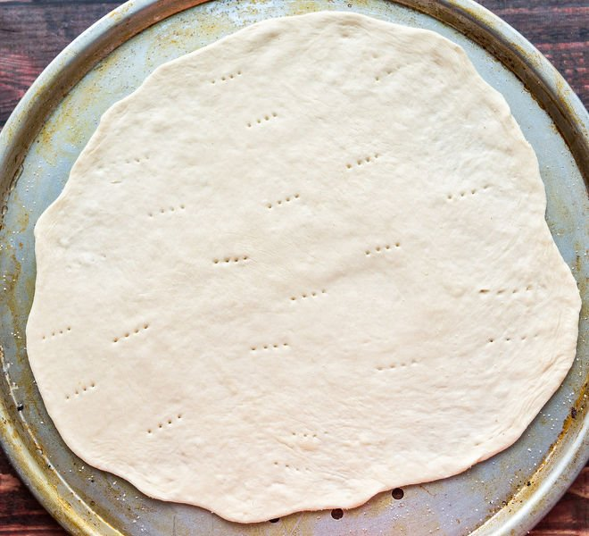 Homemade Thin Crust Pizza Dough - Cook With Manali