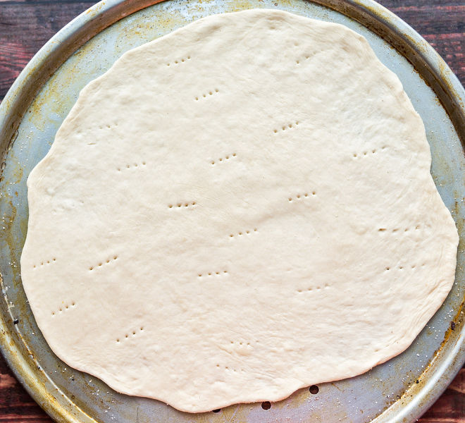how to cook pizza dough at home