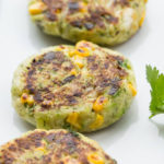 Vegan Zucchini Corn Patties
