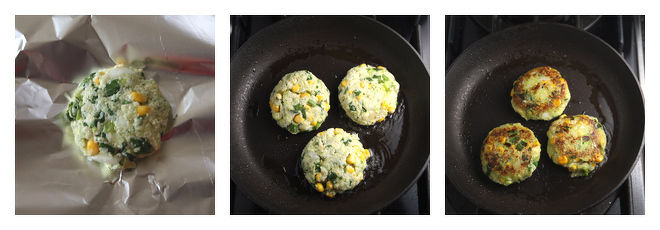 Vegan Zucchini Patties-Recipe-Step-3