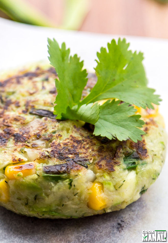 Vegan Zucchini Patties Recipe