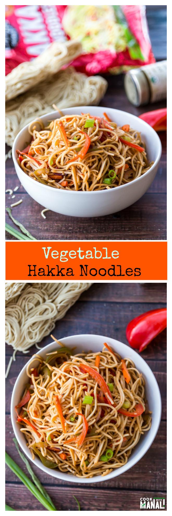 vegetable-hakka-noodles-collage