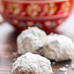 Brown Butter Snowball Cookies