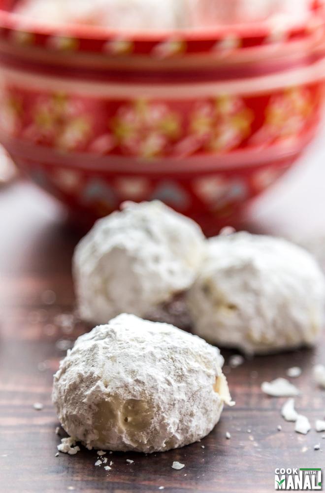 Brown Butter Snowball Cookies