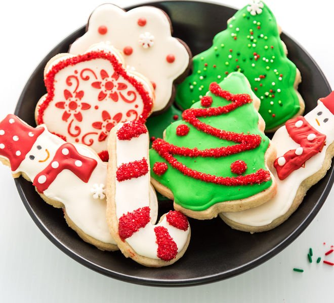Christmas Sugar Cookies - Cook With Manali