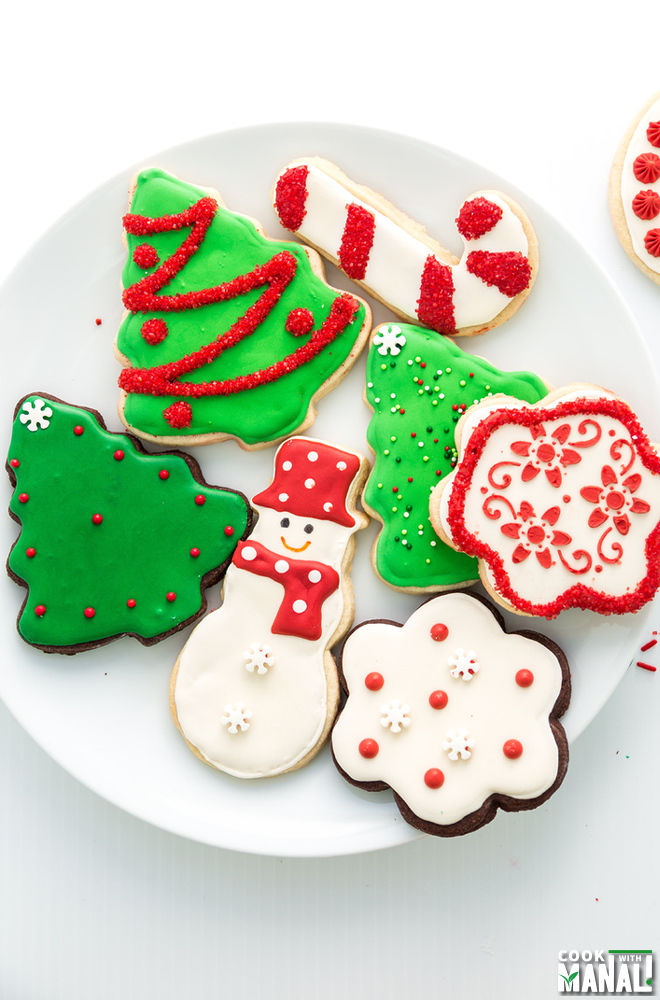 decorated christmas sugar cookies - How To Decorate Christmas Cookies With Royal Icing