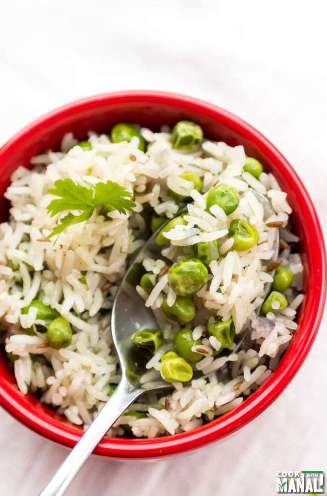 Indian Matar Pulao