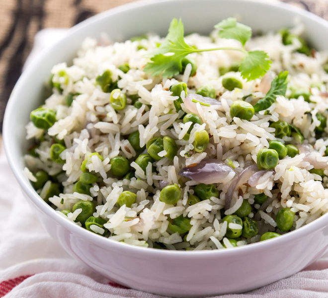 Indian Peas Pulao