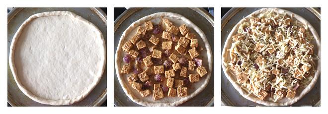 Paneer Tikka Pizza-Recipe-Step-2