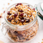 Toasted Coconut Cranberry Granola