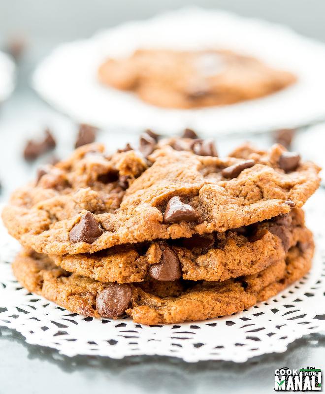 Vegan Flourless Almond Butter Cookies