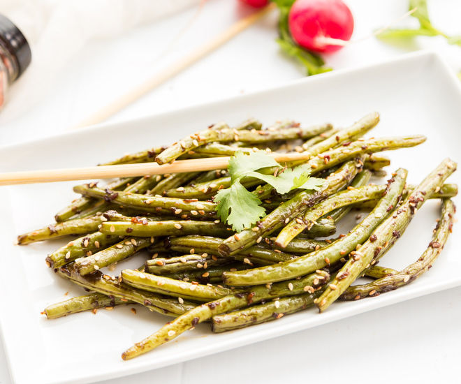 Asian Style Spicy Green Beans