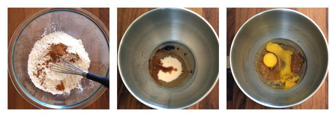 Banana Chocolate Chip Mini Muffins-Recipe-Step-1