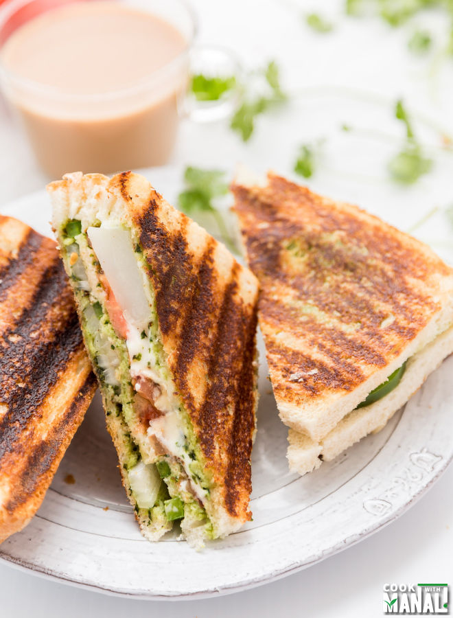 Bombay Sandwich With Cheese