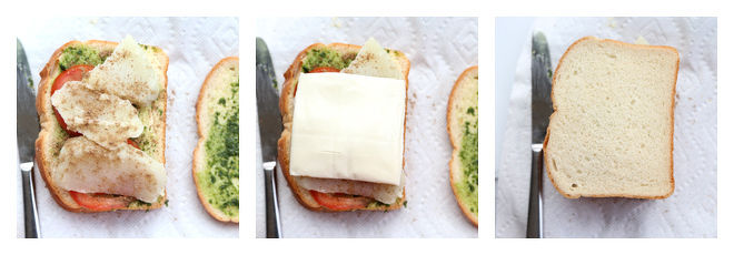 Bombay Veg Grilled Cheese Sandwich-Recipe-Step-3