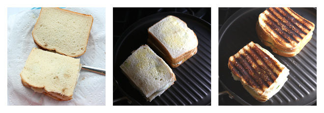 Bombay Veg Grilled Cheese Sandwich-Recipe-Step-4