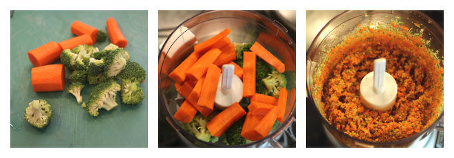 Broccoli Carrot Paratha-Recipe-Step-1
