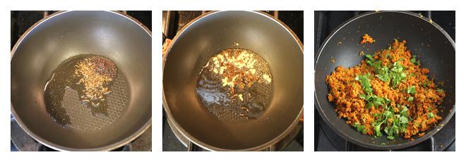 Broccoli Carrot Paratha-Recipe-Step-2