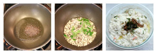 Curd Rice Recipe-Step-4