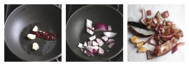 Onion Tomato Chutney-Recipe-Step-1