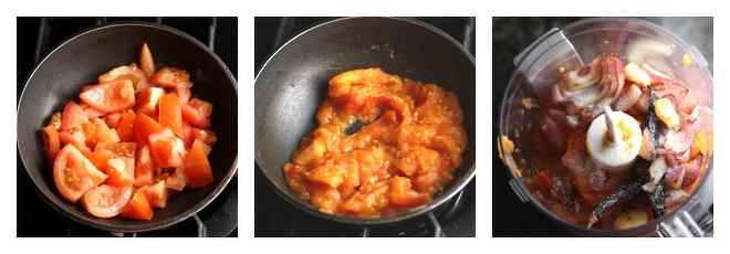 Onion Tomato Chutney-Recipe-Step-2