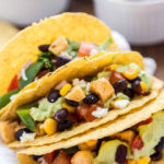 Paneer Veggie Taco