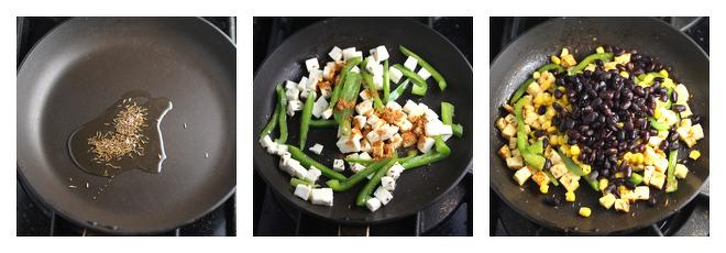 Paneer Veggie Taco-Recipe-Step-2