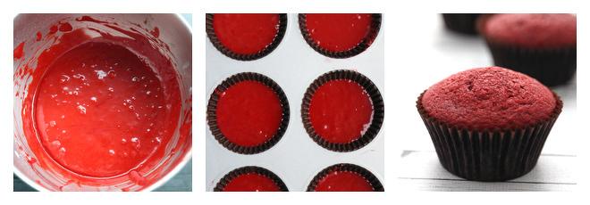 Red Velvet Cupcakes-Recipe-Step-3