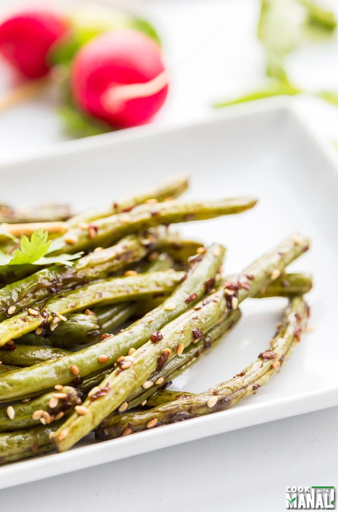 Schezwan Green Beans