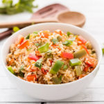 Spicy Bell Pepper Rice