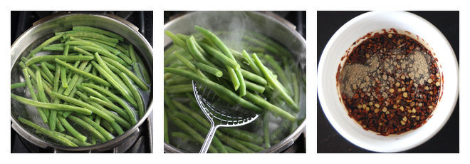 Spicy Green Beans-Recipe-Step-1