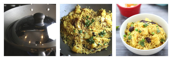 Aloo Matar Tehri Recipe-Step-4