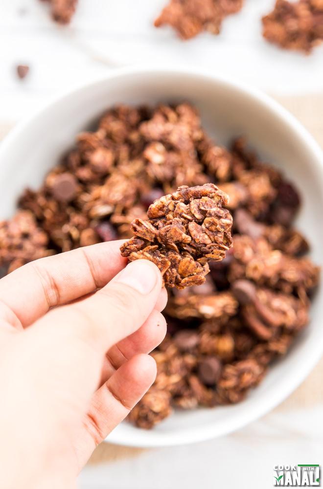 Cluster Chocolate Granola