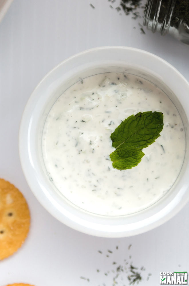 Creamy Cucumber Dill Dip