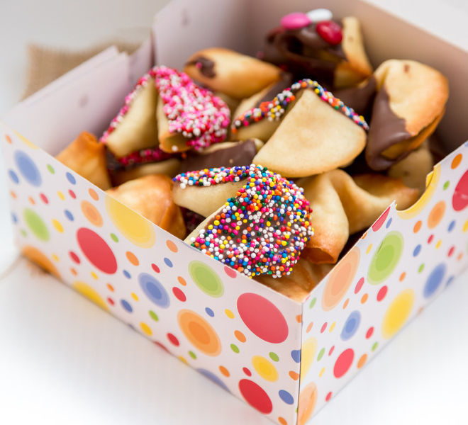 Fortune Cookies Homemade