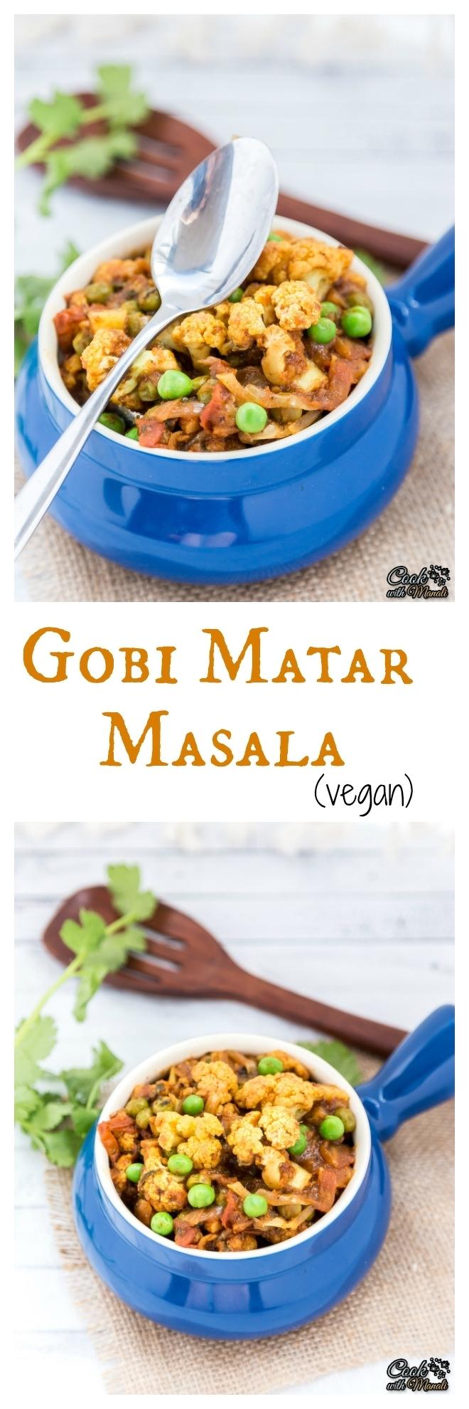 Gobi Matar Masala-nocwm