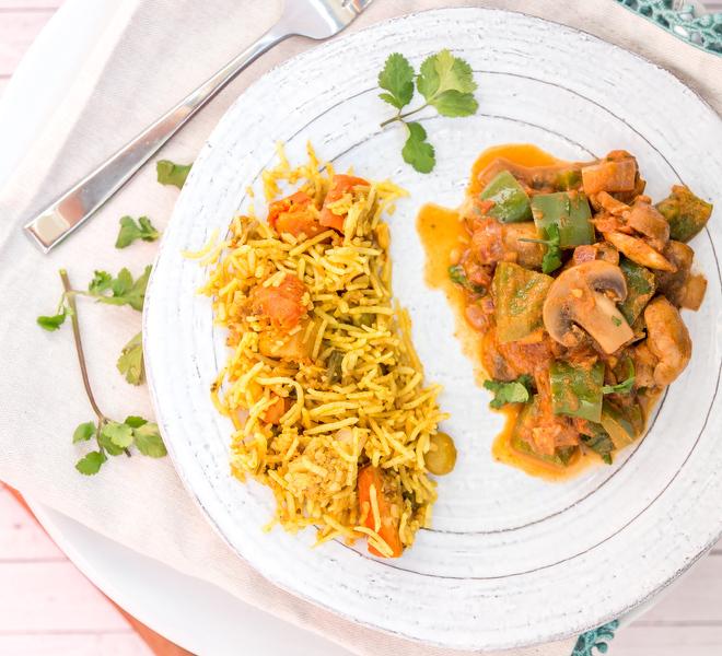 Kadai Mushroom Indian