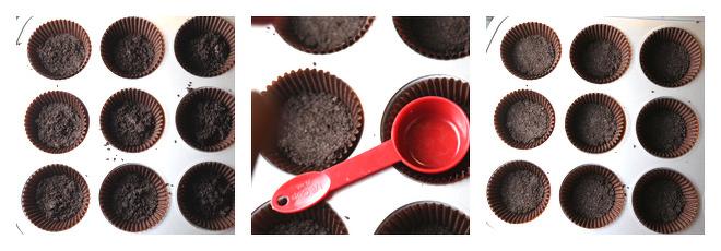 Mini Snickers Cheesecakes Recipe-Step-2