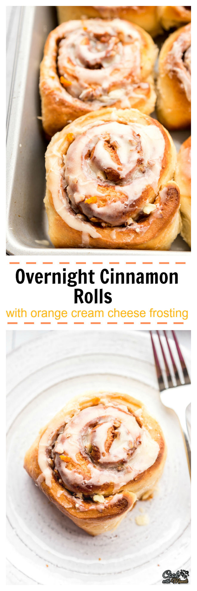 Overnight Cinnamon Rolls With Orange Cream Cheese Collage-nocwm