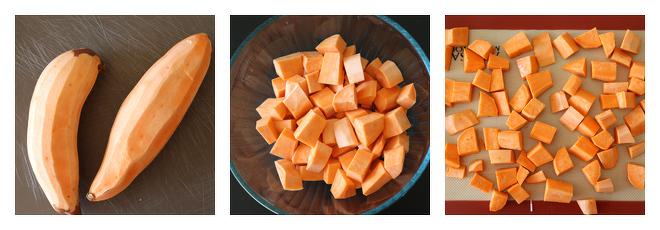 Peanut Butter Sweet Potato Lentil Burger Recipe-Step-1