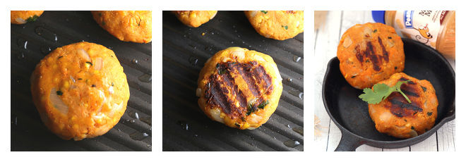 Peanut Butter Sweet Potato Lentil Burger Recipe-Step-6