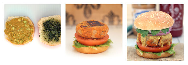 Peanut Butter Sweet Potato Lentil Burger Recipe