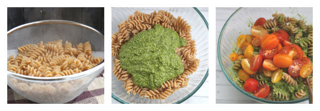 Baked Pesto Pasta Recipe-Step-1