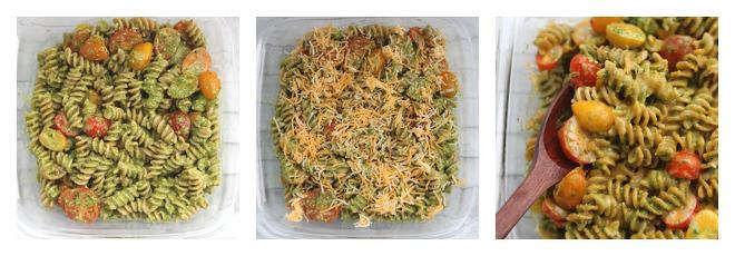 Baked Pesto Pasta Recipe-Step-2