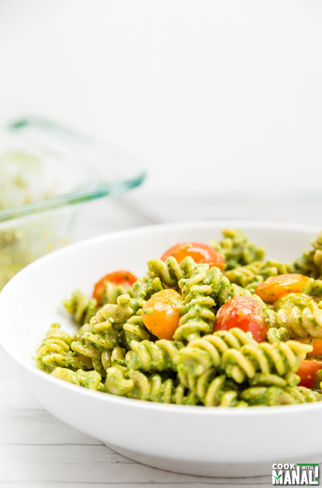 Baked Pesto Pasta Recipe