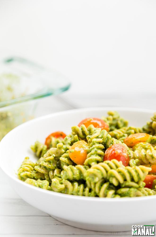 Baked Pesto Pasta Recipe